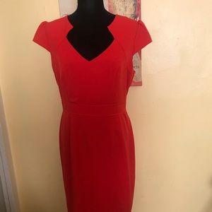 Beautiful red dress!